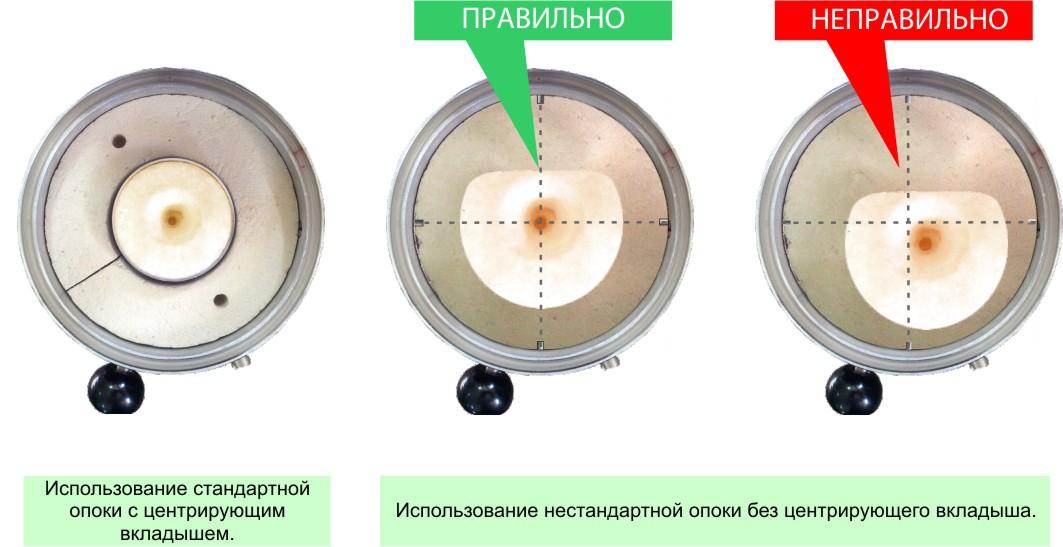 Использование опок стандартных и нестандартных размеров при работе на литейной установке УЛВК-30А.